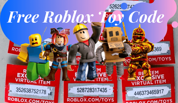 Free Roblox Toy Code