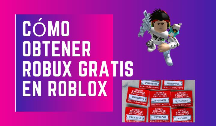 Cómo obtener Robux gratis en Roblox
